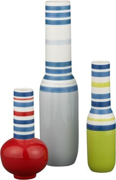 Cirque Vases  CAD $9.97 - CAD 19.97 our reg. price. CAD 19.95 - CAD 29.95  | CB2 Endowed derriere and curved square-cut back fit to form in pliable slim white Hirek® techno-polymer composite. The back even gives a little when you rock back. Chrome-plated steel legs add shine.