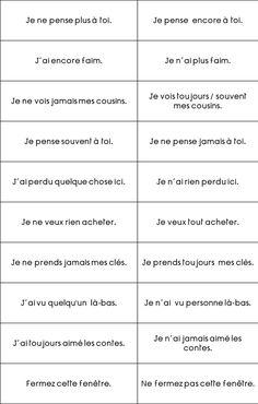 Types de phrases - Loustics - ma classe de cycle 3