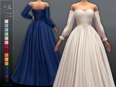 - New mesh Found in TSR Category 'Sims 4 Female Formal' Sims 4 Mm Cc, Sims Four, Sims 4 Mods Clothes, Sims 4 Clothing, Sims 4 Wedding Dress, Strapless Dress Formal, Formal Dresses, Party Dresses, Lace Dresses