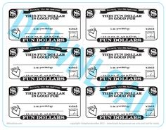 Fun Dollar Coupons   A Free Printable   Lil Blue Boo @Stephanie Corfee Artwork!