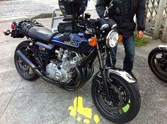 Suzuki GS1000, my new bike.