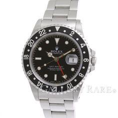ロレックス GMTマスター 黒黒ベゼル U番 16700 ROLEX 腕時計