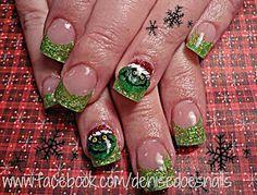 Grinch nails- Christmas nails