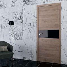 Interior and exterior doors by MilanoDoors, contemporary italian doors, modern wood doors. Door Design Interior, Modern Interior, Interior And Exterior, Modern Wood Doors, Italian Doors, Exterior Doors, Munich, Glass Door, Modern Design