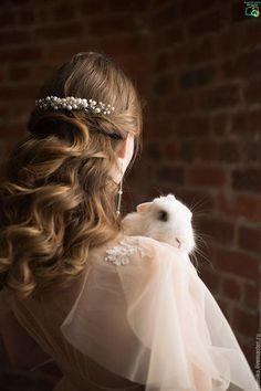 Long Wedding Hairstyles & Bridal Updos via Evgeniya Lebedeva