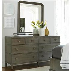 SDI7 Playlist Dresser and Mirror Set