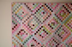 aneela hoey - scrappy trips around the world quilt - see tutorial