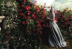 Drew Barrymore in 'Beauty and the Beast' by Annie Leibovitz for Vogue