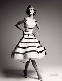 thelingerieaddict:  That dress. bohemea:  Dior by Demarchelier