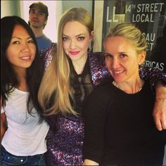 Behind the scenes with Amanda Seyfried at the 2014 MTV Movie Awards. Hair by Jenny Cho. Makeup by Monika Blunder. Styled by Elizabeth Stewart.