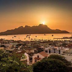 Wow, amazing sunset! Mindelo #CaboVerde #CapeVerde #sunset