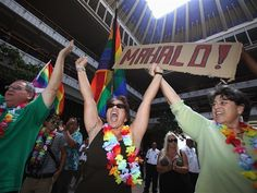 Hawaii to become 15th state to grant gay marriage — leapfrogging Illinois  (Photo: Hugh Gentry / Reuters)