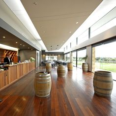 The bar at The Hill Winery by Peter Rowland Catering