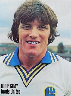 Eddie Gray Leeds United 1977 Leeds United, The Unit, Football, Baseball Cards, Peacocks, Grey, Sports, Soccer, Gray