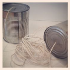 Kids would play with them, but the science behind a pair of cans and string is not make believe. The Smithsonian posted a recent article of a 1200-year-old phone using gourd & twine!! Our cans were formerly peaches! #nhtelephonemuseum