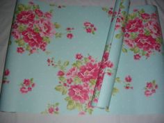 Vintage retro 40s 50s shab chic nostalgia retro country style floral wall paper