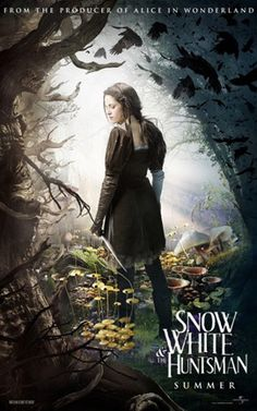 Before you get all excited about buying the DVD that's just come out, can I suggest you read my review of Snow White and the Huntsman?