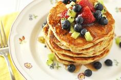 The Best and Most Famous Wheat Germ Pancakes Recipe — Savor The Thyme - Food, Family and Lifestyle
