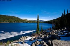 Hidden Lake, Boundary County, Idaho