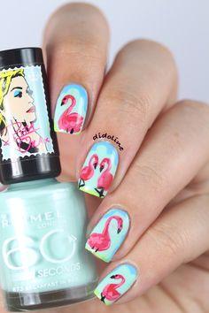 Sophia Webster Flamingo Nails