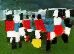 """""""Le Parc des Princes"""", Nicolas de Stael, 1952."""