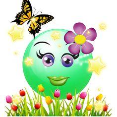 Quebles Spring Good Morning Smiley, Good Morning Good Night, Love Smiley, Emoji Love, Happy Smile, Happy Day, Smiley Emoticon, Emoji Faces, Smiley Faces