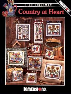 Schema punto croce Country At Heart 01