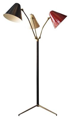 Tree Arms Dirigible Floor Lamp, through V