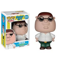 This is a Family Guy POP Peter Vinyl Figure. Peter Griffin is one of the best characters in the animated television series Family Guy. It's great to see him in Funko POP Vinyl style and the fans of Fa