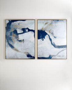 """Percussion"" I & II Giclees, 2-Piece Set, Multi Colors"