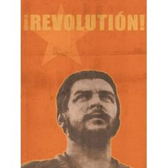 "CHE GUEVARA Vintage-Style Political Revolution Poster Art Print 18"" x 24"""