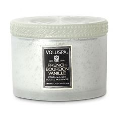 Voluspa French Bourbon Vanille Candle is Khloe Kardashian's favorite candle.  $24 at Nordstrom and also available at Amazon.