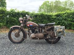 Finally finished... Super 4, Ariel, Ww2, Motorbikes, Motorcycles, British, Vehicles, Car, Motorcycle
