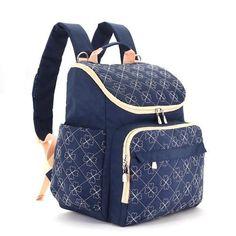 COLORLAND Diaper Nappy Bag - Travel Backpack Diaper Organizer Nursing Bag