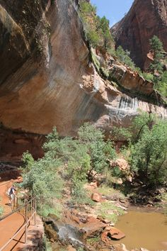 what to do in Zion with kids, Emerald Pools Trail, The Mighty 5, Utah National Parks, Utah hikes for kids,
