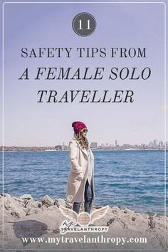 Travel safety tips for women. Check out these safety tips from a solo female traveler. Traveling solo as a woman can be intimidating but these travel tips from a seasoned solo traveler will ease your nerves and make traveling abroad simple! Solo Travel Tips, Travel Advice, Travel Quotes, Travel Stuff, Travel Hacks, Budget Travel, Vols Longs, Single Travel, Travel Images