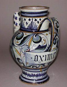 Apothecary Jar -- Circa 1580 -- Attributed to Annibale Fontana - Buscar con Google