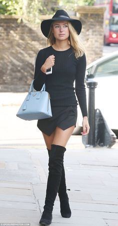 black suede thigh high flat boots - Google Search