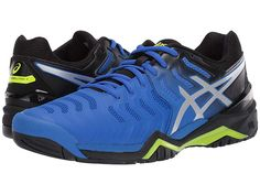 asics gel resolution 7 tennis shoes zara