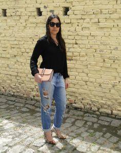 Fashfinds | Blog » Arquivos » Bom Retiro Street Style Jeans Destroyed