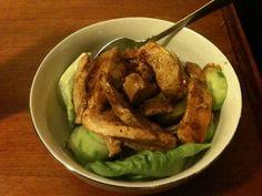 Spicy Szechwan Chicken Salad