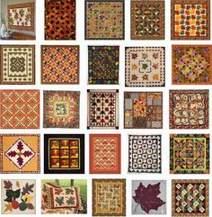 Quilt Inspiration: FREE Pattern Day ! Autumn Leaves...For those of us in the Northern hemisphere, autumn is on the way. We've collected some wonderful free patterns for leafy quilts and for the warm colors of fall. Here are some wonderful free patterns. (Note: New patterns were added on July 29, 2014.)