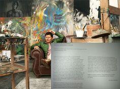 El pintor Carlos Jacanamijoy y su biografía