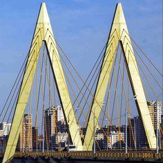 """Буква """"М"""" """"М"""" - означает """"Миллениум"""", и это самый высокий вантовый мост в Казани. Такой подарок сделали власти к тысячелетнему юбилею города.  Реальные 45 метров в высоту легко и симпатично войдут в ваше фотослово: http://www.lovislova.ru/create/frame  #lovislova #present #gift #art #followme #картина #подарок #подарокдругу #фотослова #photoletter #beauty #bridge #kazan #millenium #казань #мост #миллениум"""