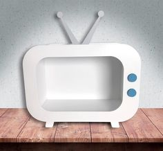 Tv Retro, Patio Bar, Baby Room Decor, Bathtub, How To Make, Decoration, Party, Crafts For Kids, Cardboard Castle