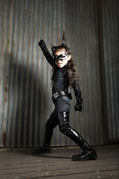 Catwoman #Cosplay - DC Comics This will totally be my daughter...If I ever have one.;-)