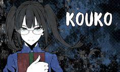 Коко Каминага — третья ученица в классе Курогуми, 16 лет. Строгая девушка в очках с развитым интеллектом. Была воспитана в католическом приюте, являвшимся тайной школой асассинов. Специализируется на бомбах. С детства была слабой и неуклюжей, что однажды привело к смерти её любимой наставницы, поэтому в убийстве полагается на тщательное планирование Riddle Story Of Devil, Akuma No Riddle, Bad Wolf, Girls With Glasses, Manga, My Character, Riddles, Hd Wallpaper, Anime Art