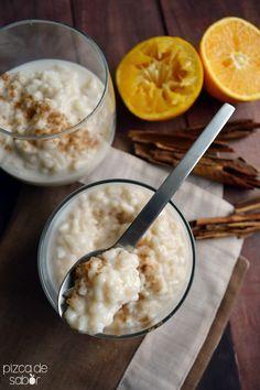 Cómo hacer arroz con leche (paso a paso) http://www.pizcadesabor.com