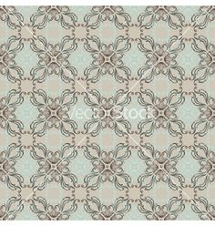 Vintage wallpaper floral pattern retro vector by incomible on VectorStock®
