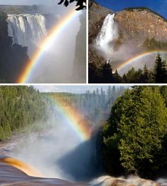 Waterfalls kick a constant stream of mist into the air and the atmospheric saturation goes on constantly, regardless of the weather. This makes waterfalls excellent photographic companions to rainbows! The above selection of images pairs some of the world's most famous waterfalls with some equally stunning rainbows.
